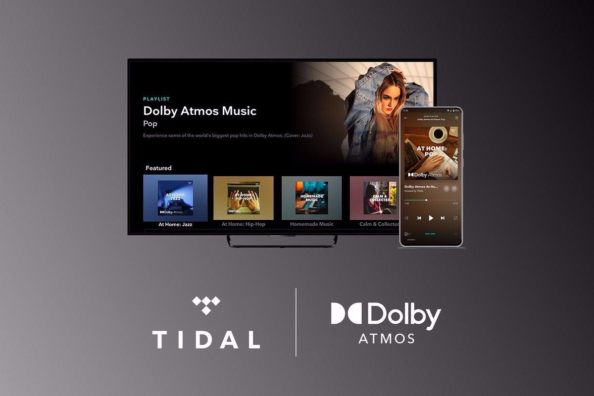 TIDAL pierwszym serwisem muzycznym oferującym dźwięk Dolby Atmos na telewizorach!