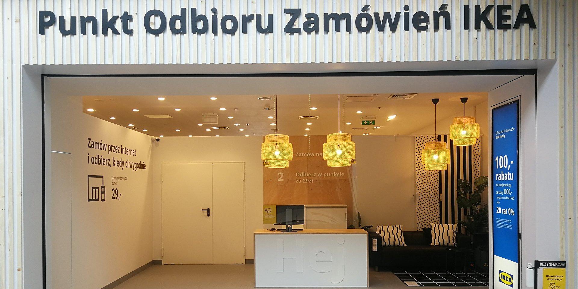 Otwarcie Punktu Odbioru Zamówień IKEA w King Cross Praga - teraz IKEA jeszcze bliżej klientów w Warszawie.