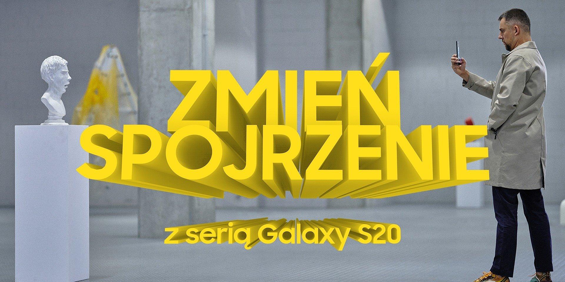 Wojtek Sokół za obiektywem Galaxy S20 Ultra w kampanii Samsung