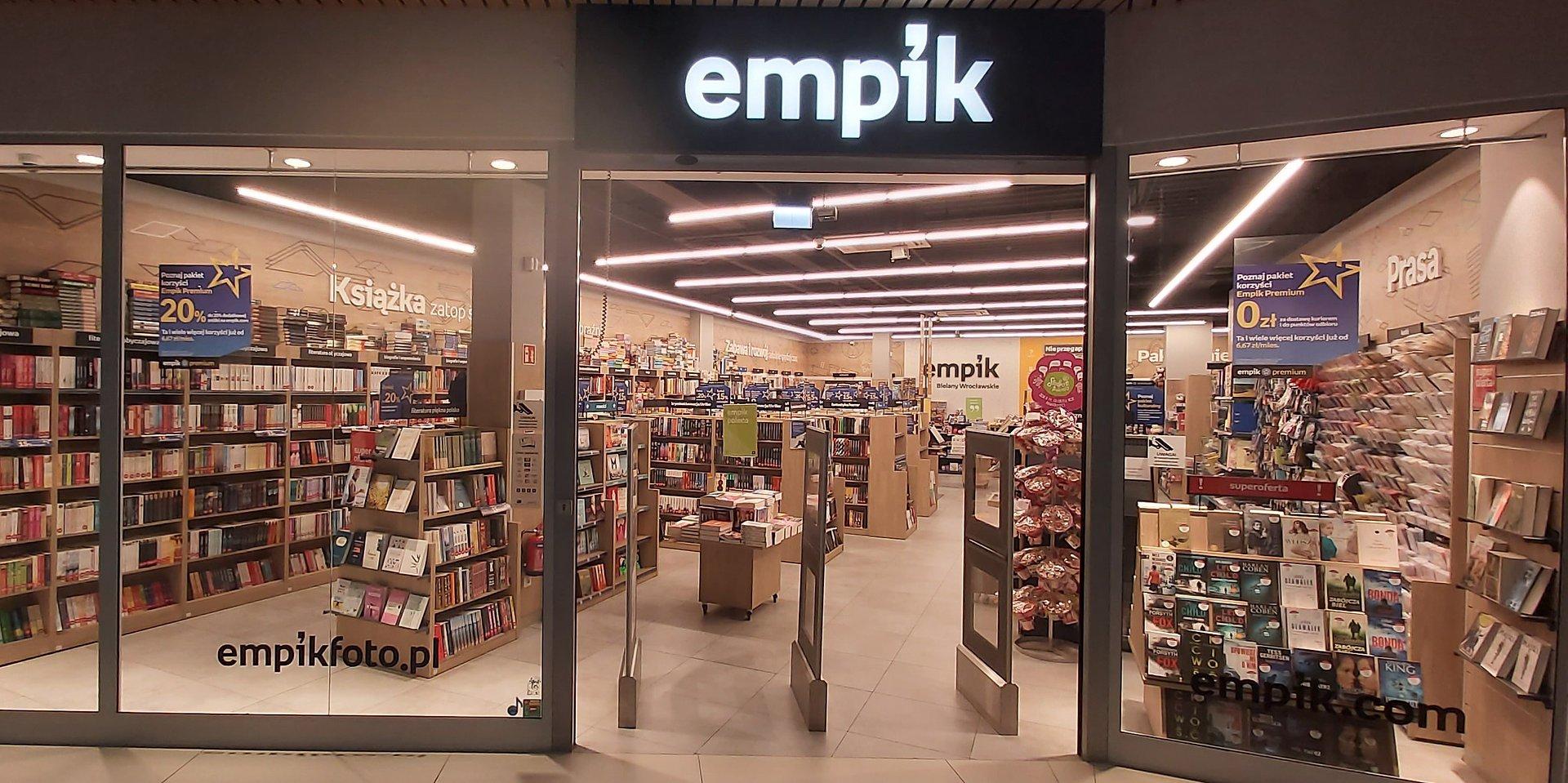 Empik otwiera część zamkniętych salonów w wyniku porozumień z właścicielami obiektów handlowych