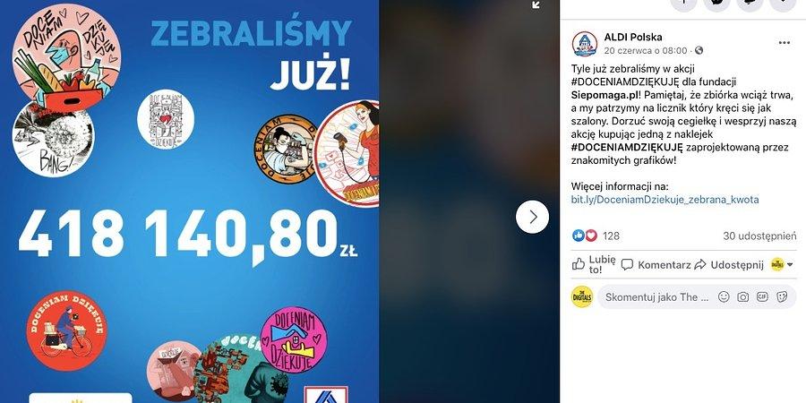 The Digitals utrzymuje budżet na obsługę ALDI na Facebooku