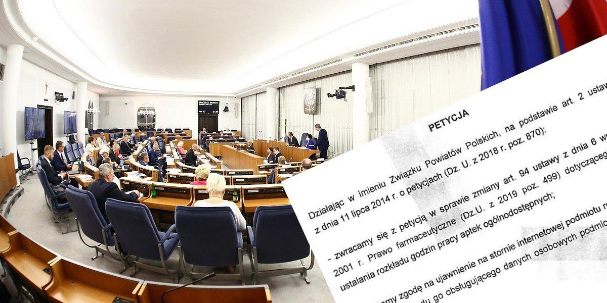 Petycja w sprawie dyżurów aptek. Senacka komisja zajmie się nią w czwartek