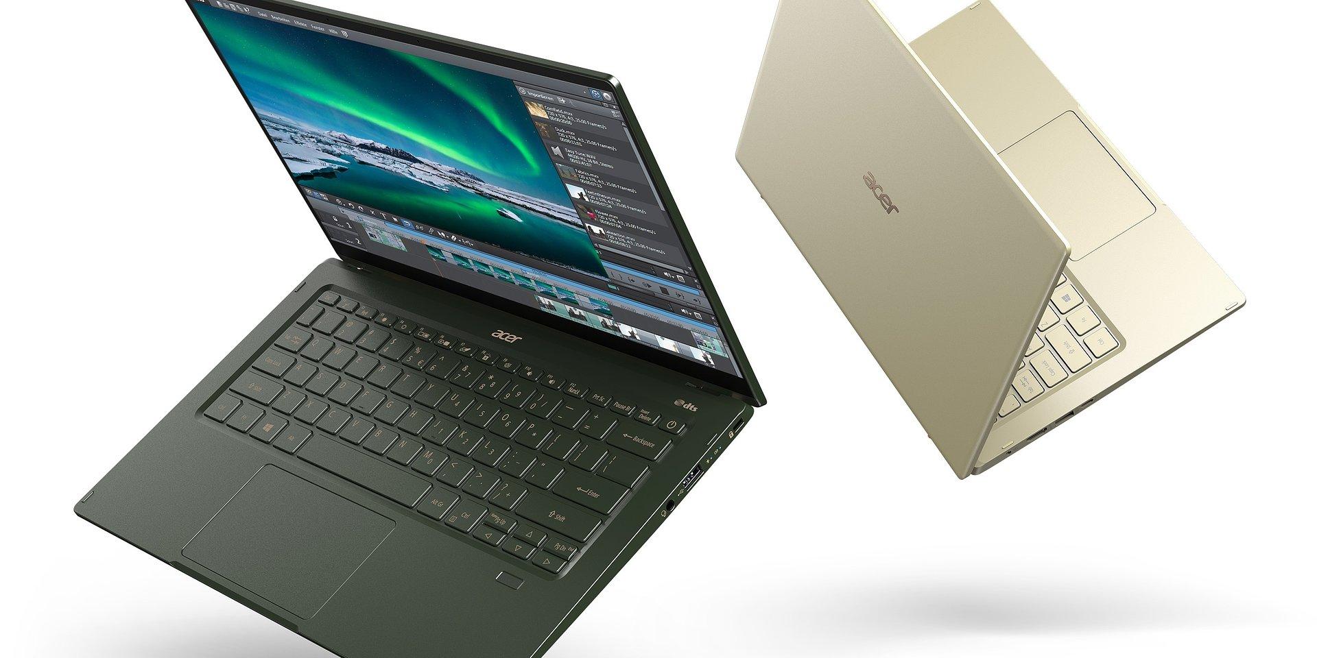 Połączenie estetyki, wydajności i mobilności. Acer Swift 5 w najnowszej odsłonie