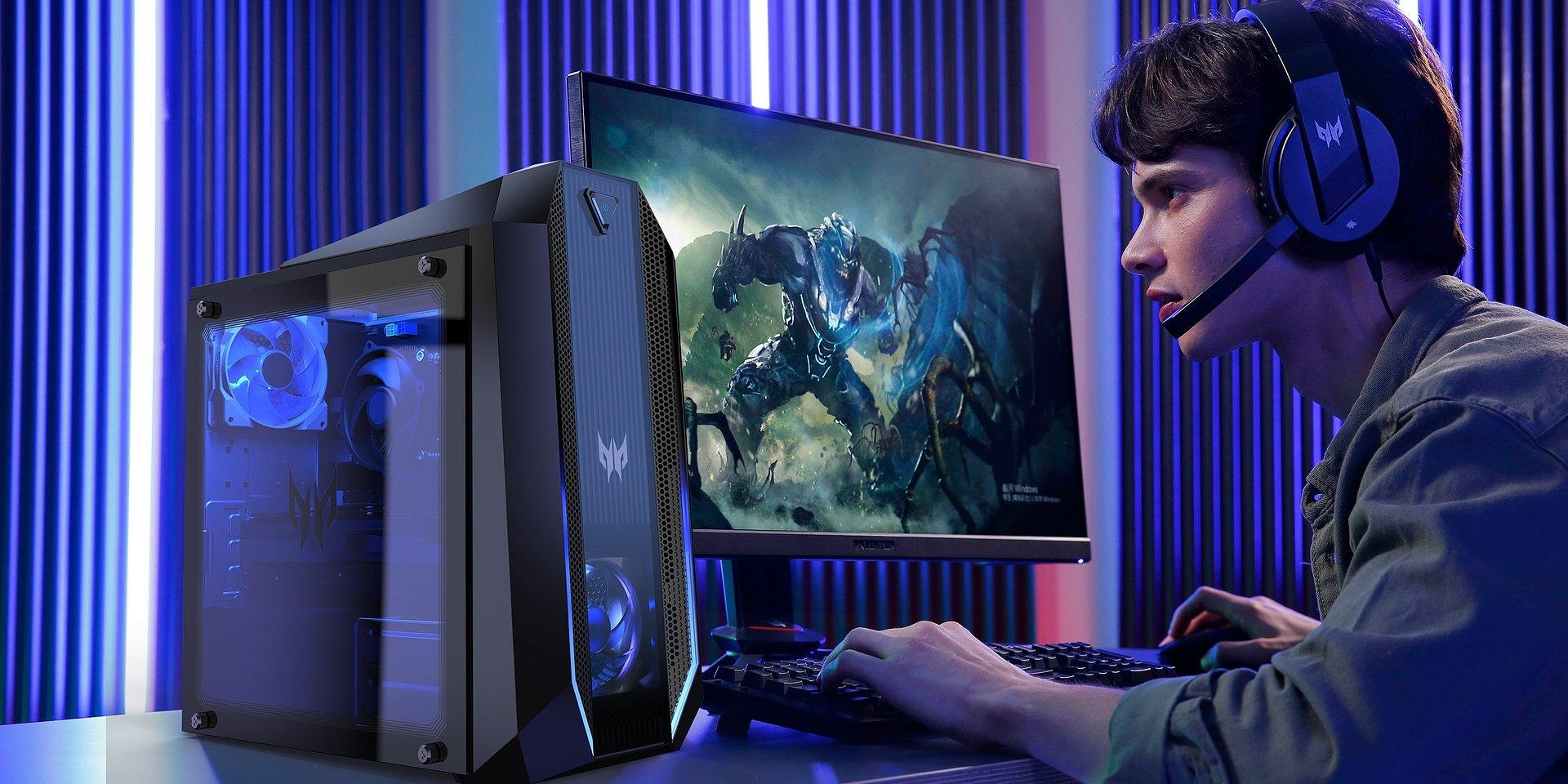 Acer poszerza portfolio produktów z serii Predator. Nowe komputery stacjonarne, monitory i akcesoria