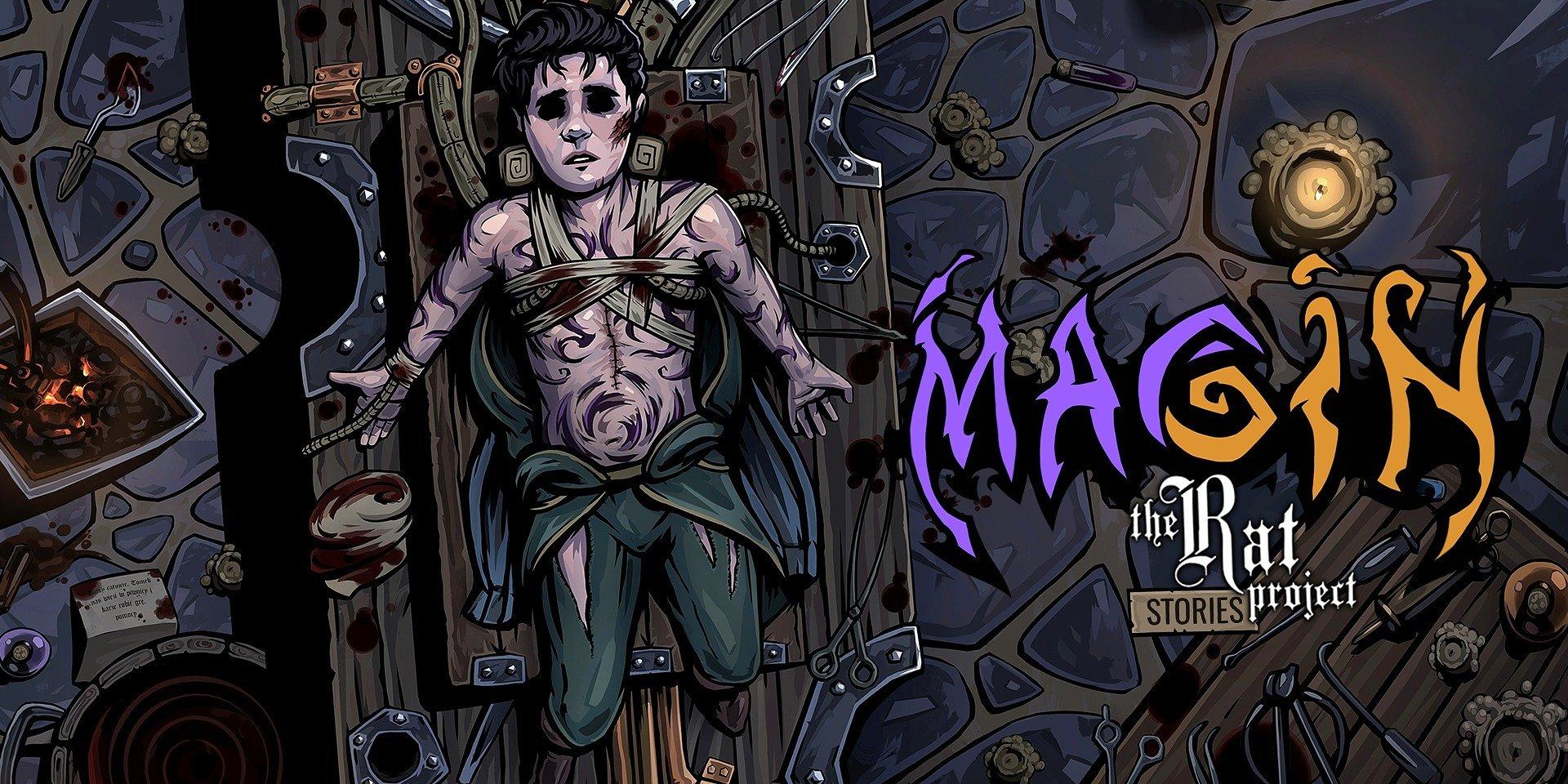 MAGIN – мрачная и берущая за душу приключенческая RPG показала удивительные результаты на Kickstarter!