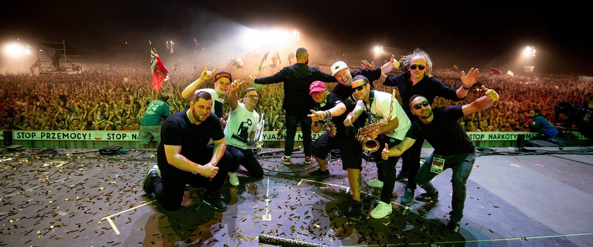 Śląski zespół z jamajskimi rytmami w sercu zagra na Pol'and'Rock Festival Online