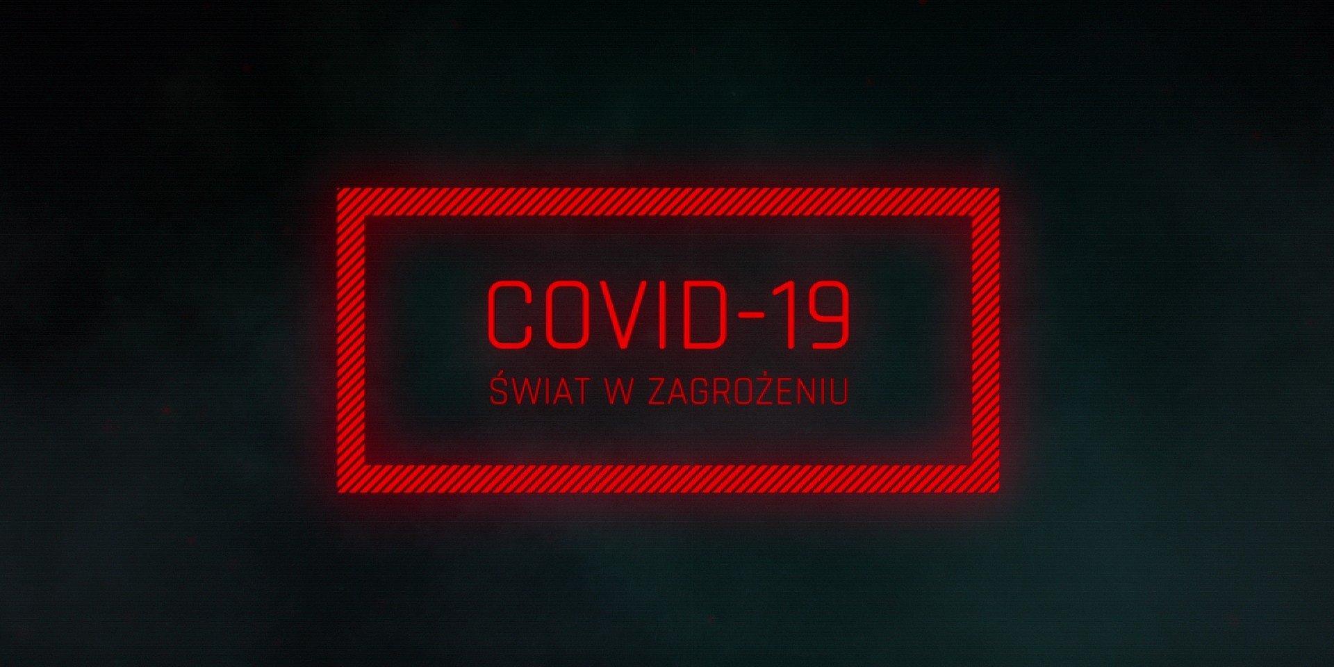 """Premiera najnowszego filmu reporterów """"Superwizjera"""" - """"Covid-19: Świat w zagrożeniu"""" - już 28 czerwca w TVN!"""
