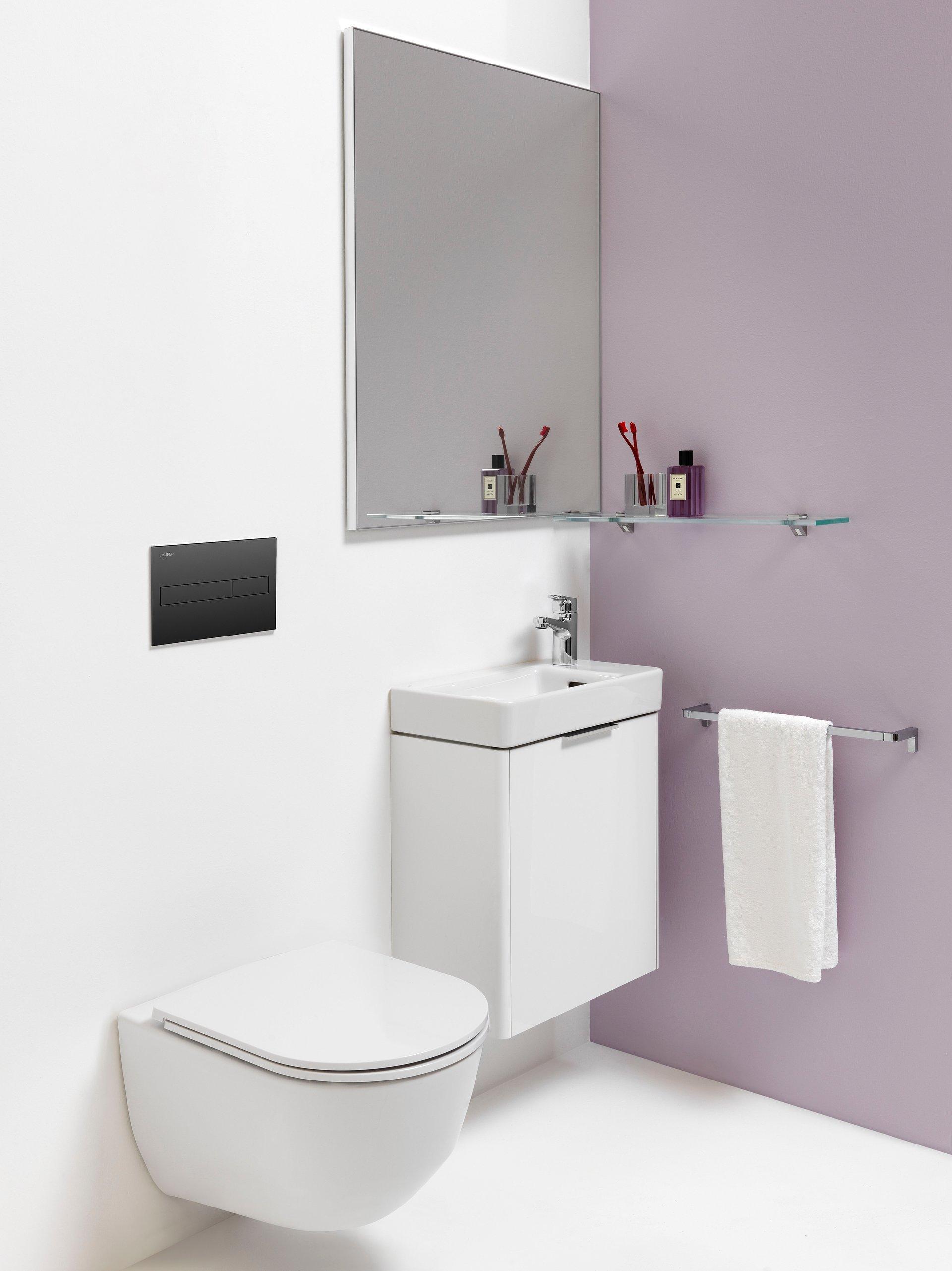 Łazienka w stylu Pro Laufen to design dla każdego