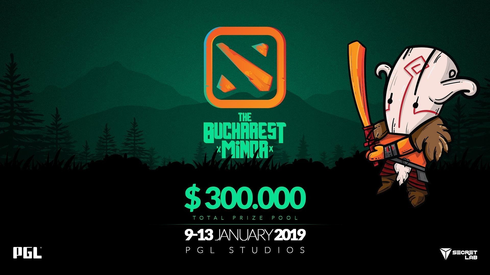 PGL will host The Bucharest Minor in January 2019