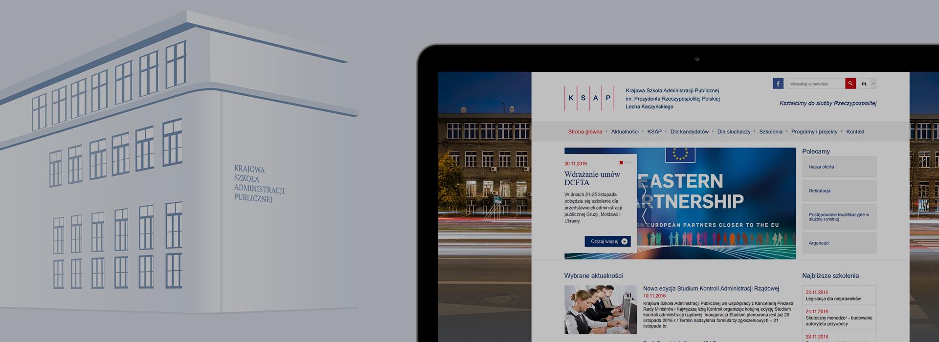Nowy portal Krajowej Szkoły Administracji Publicznej