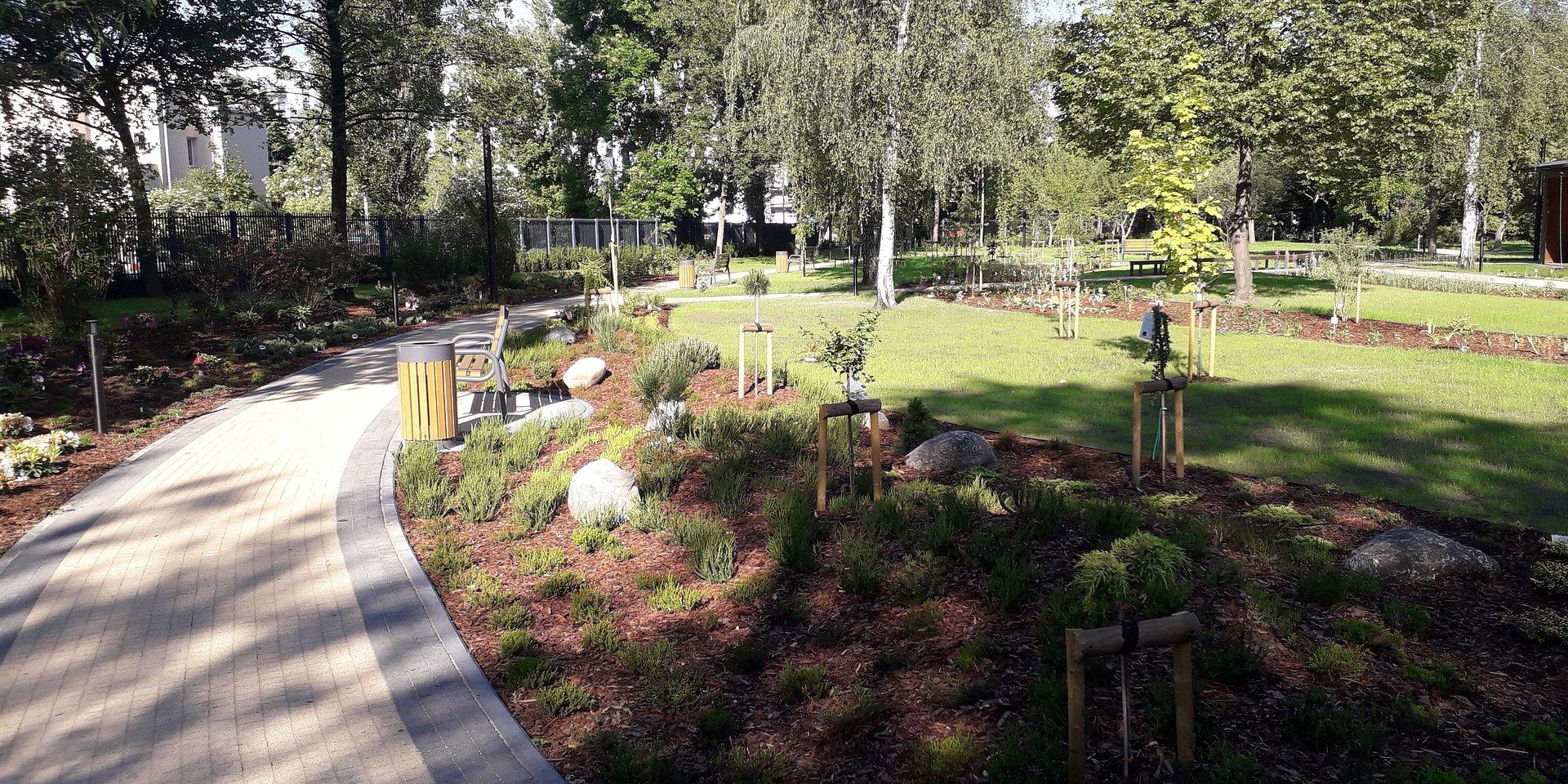 Nowy ogród dydaktyczno-doświadczalny UŁ – samowystarczalny i prośrodowiskowy