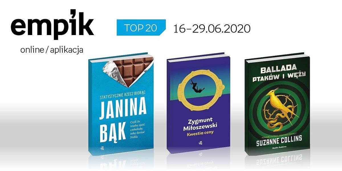 Książkowa lista TOP 20 na Empik.com za okres 16-29 czerwca
