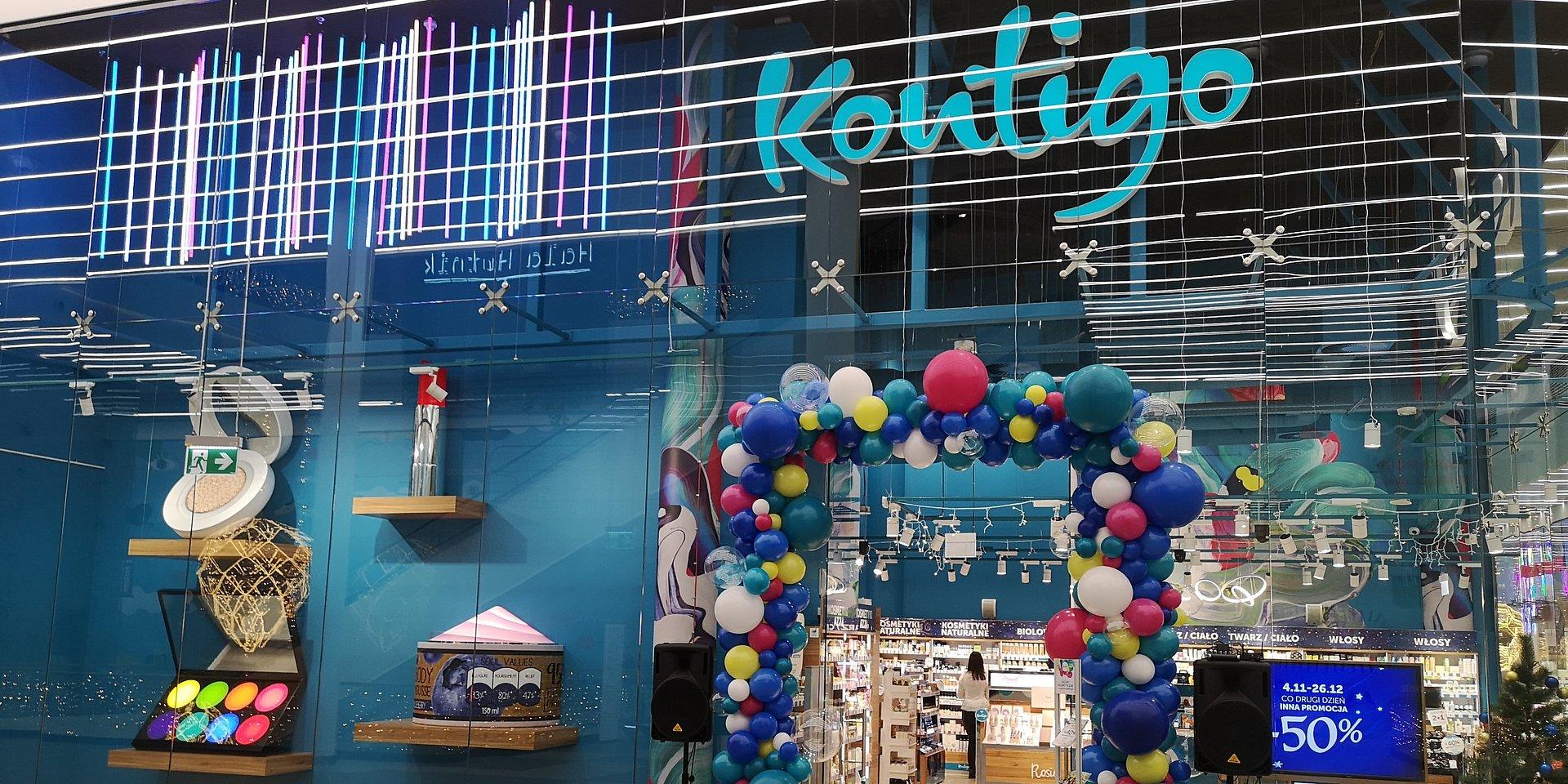 Kontigo otwiera sklep kosmetyczny w Alei Bielany
