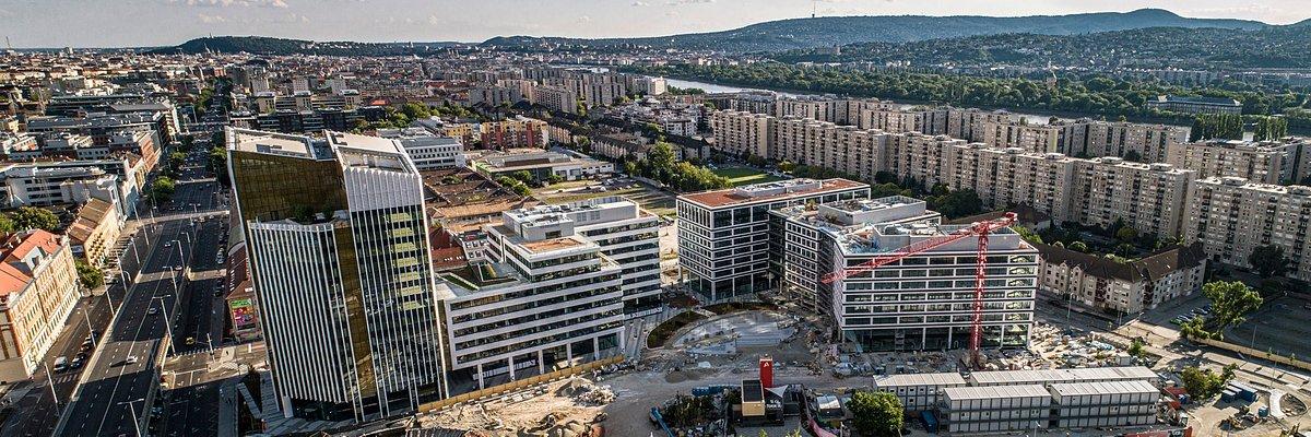 Smart-Office-Lösung Symbiosy von HB Reavis ermöglicht intelligente Arbeitsplätze für bp in Agora Budapest