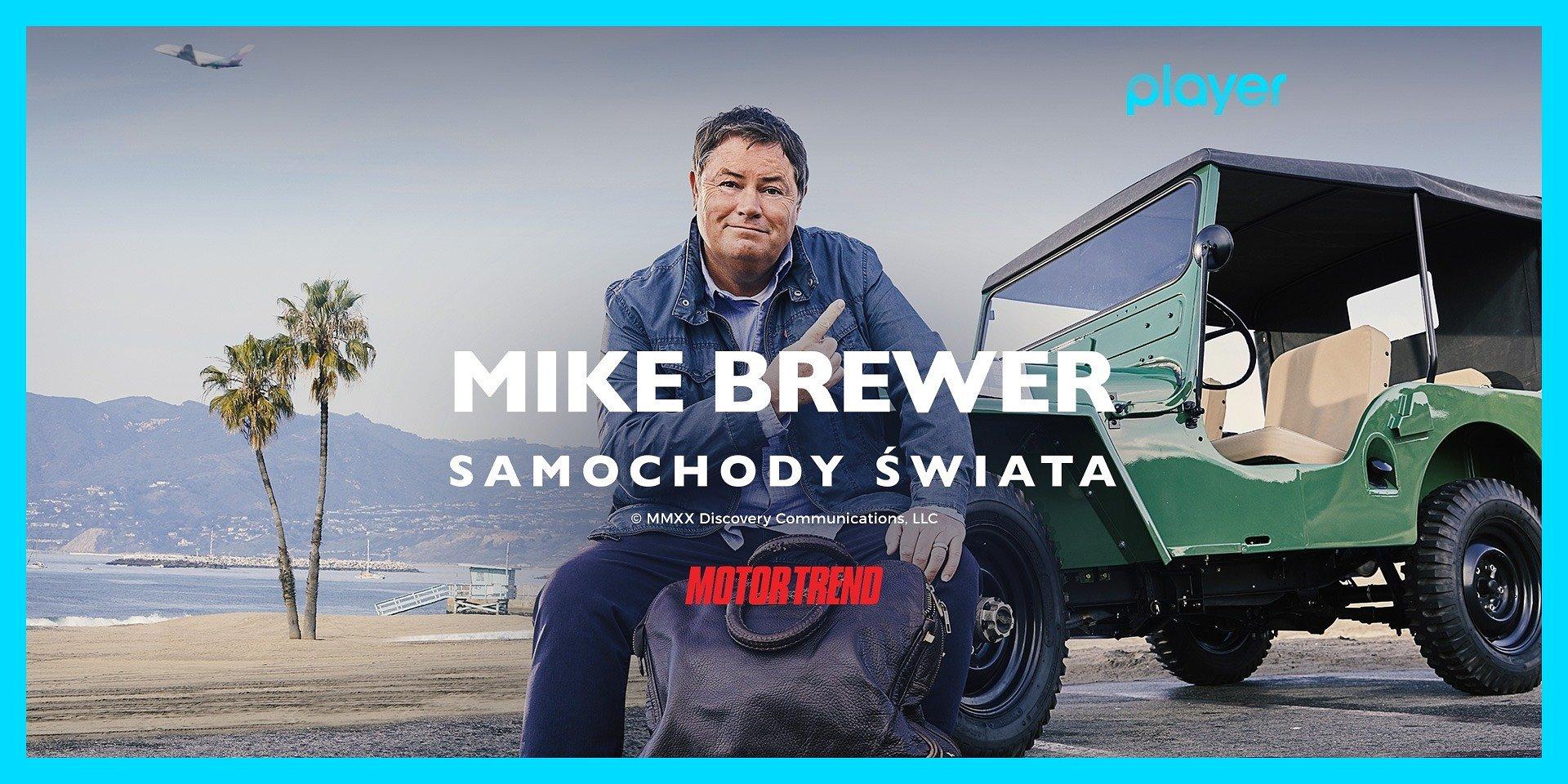 """""""Mike Brewer. Samochody świata"""" oraz inne gorące premiery w kolekcji MotorTrend tylko w Playerze!"""