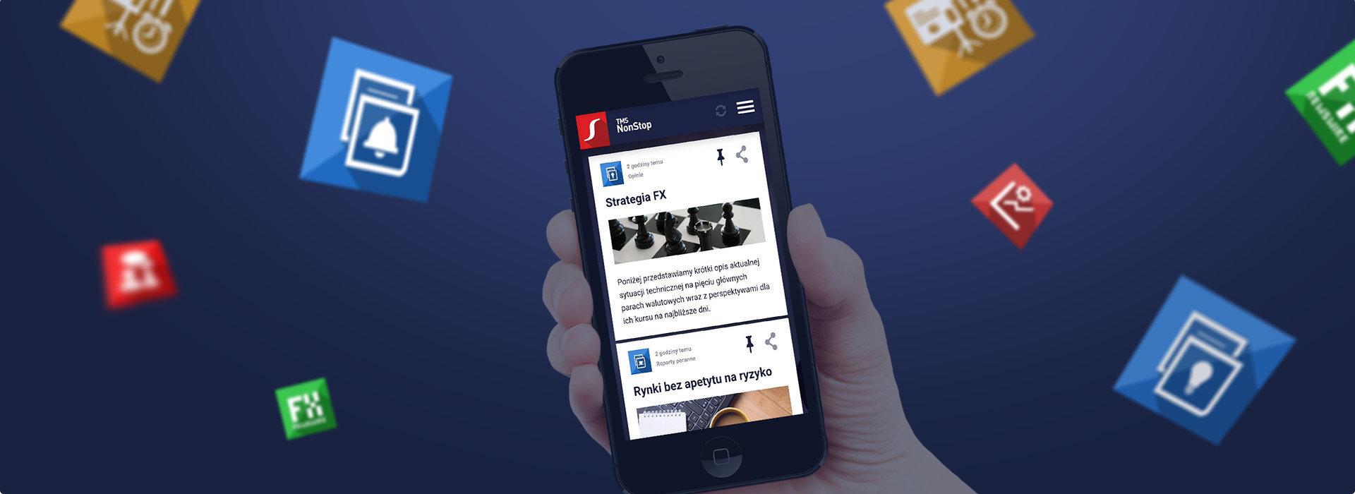 Centrum informacji rynkowych TMS NonStop już online!