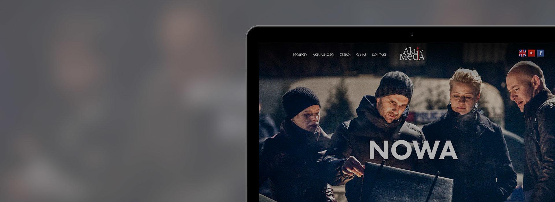 Nowy serwis Aktiv Media - produkcje telewizyjne i filmowe