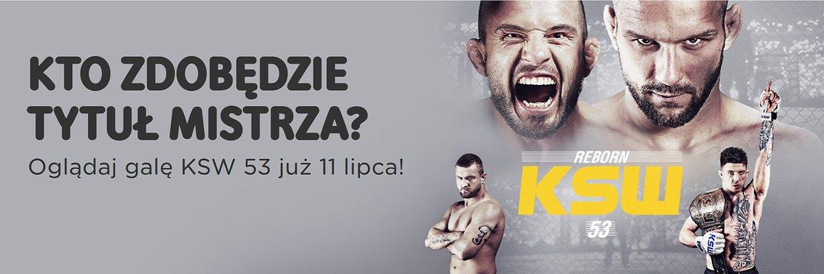 Gala KSW 53 dostępna w UPC Polska