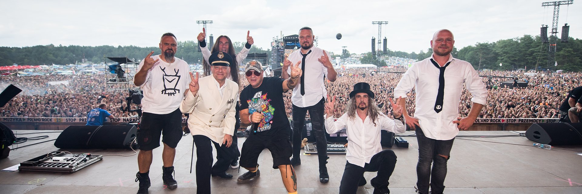 Pierwsi reprezentanci soul metalu w Polsce na Pol'and'Rock Festival Online