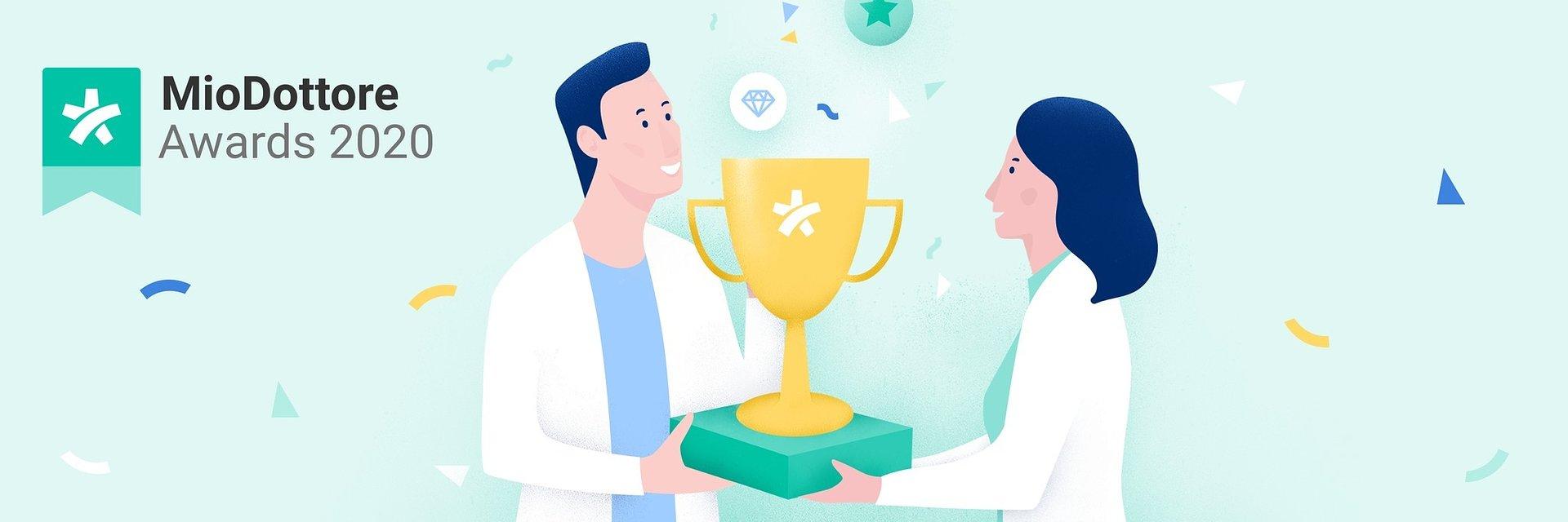 MioDottore Awards 2020: al via la terza edizione italiana dei premi dedicati ai professionisti della salute più apprezzati da colleghi e pazienti