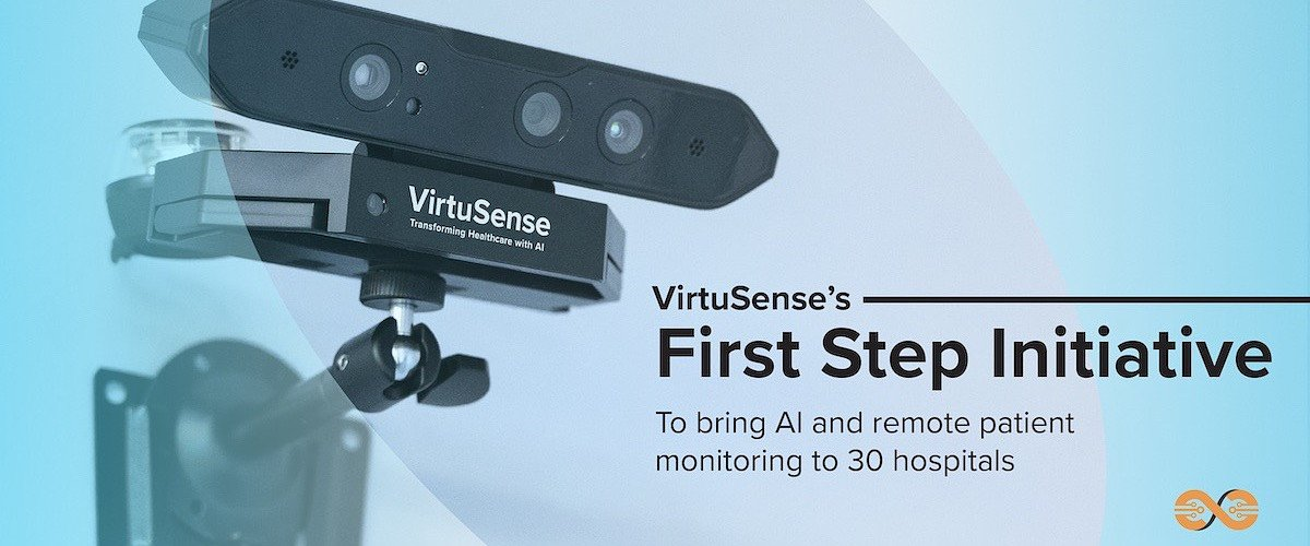 VirtuSense's First Step Initiative to bring AI and remote patient monitoring to 30 hospitals