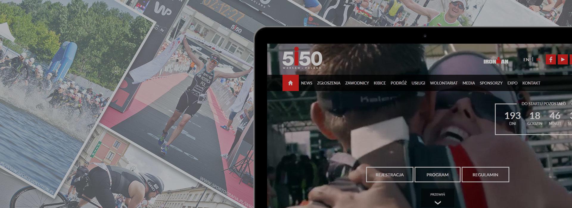 Ruszył serwis internetowy warszawskiej imprezy triathlonowej 5150 Warsaw Triathlon