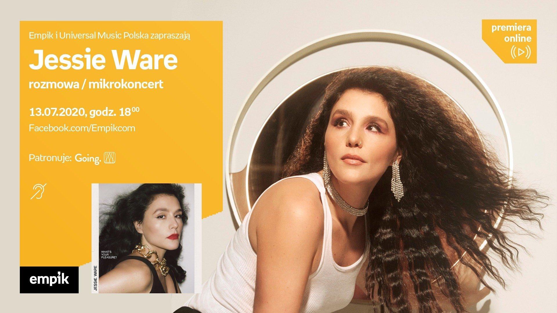 Jessie Ware w cyklu Empiku #premieraonline z mikrokoncertem