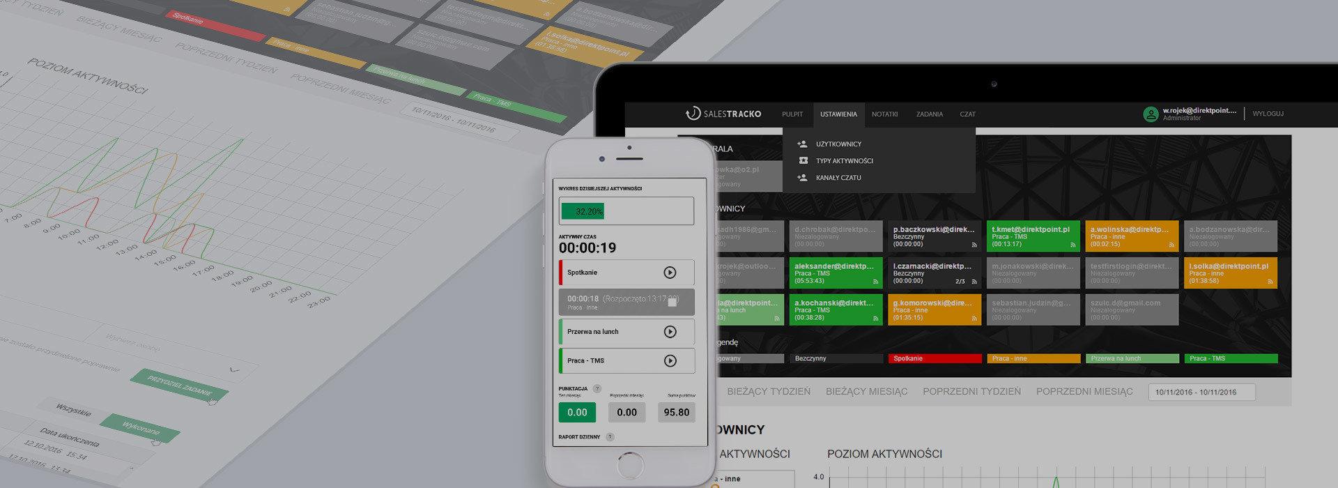 SalesTracko - Pierwszy startup Direktpoint!