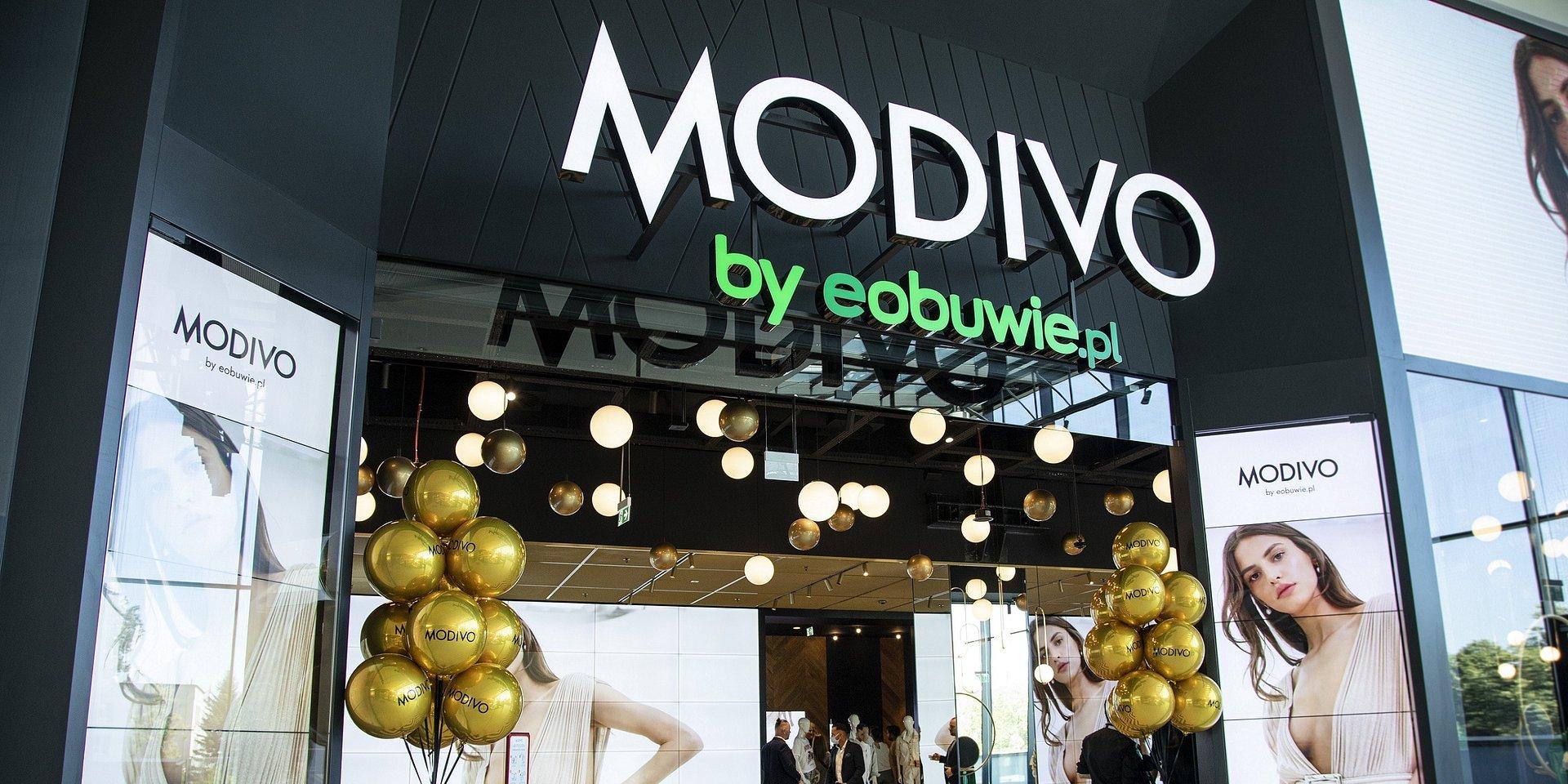 Modivo: pierwszy sklep stacjonarny już otwarty