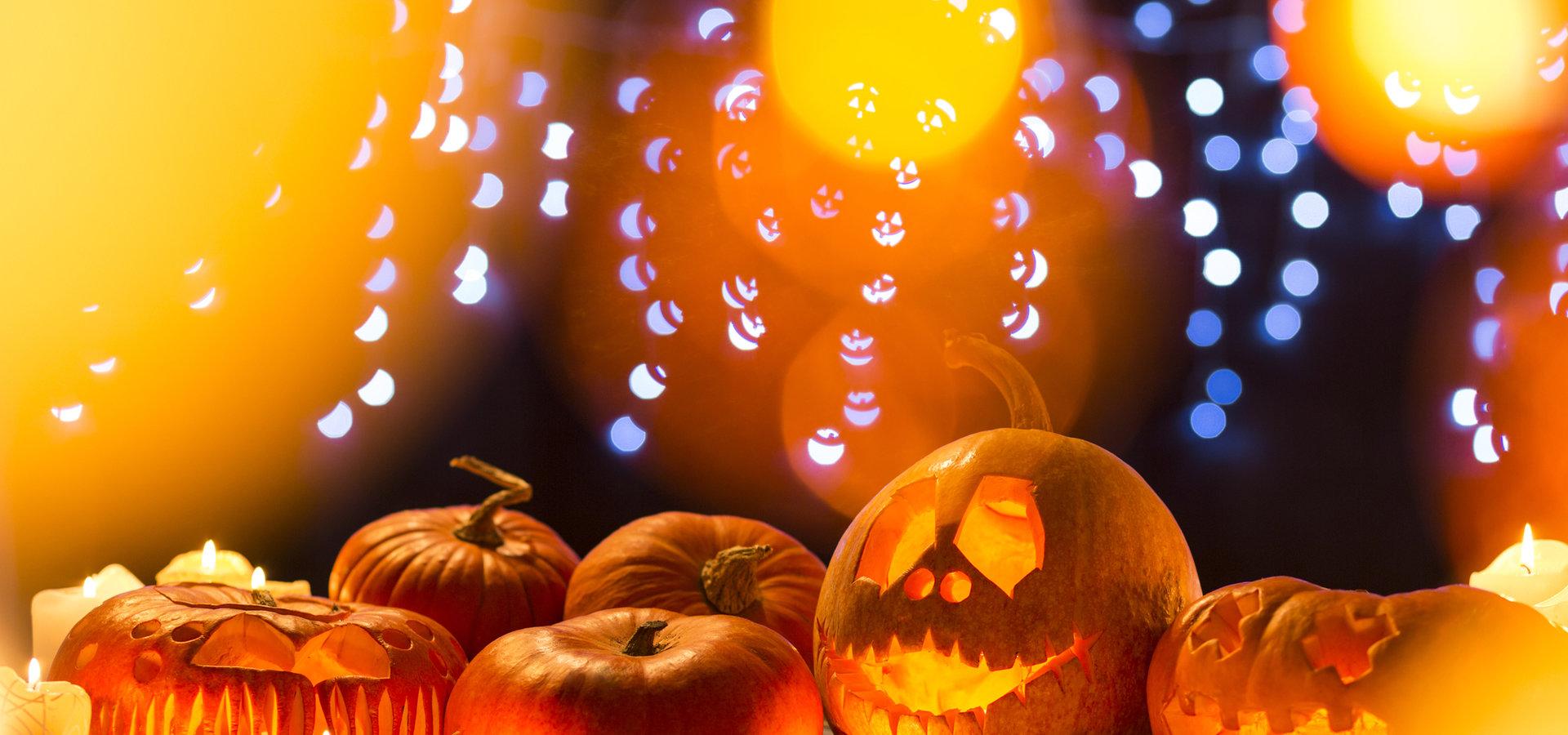 Halloweenowe DIY - ozdoby ze światłem w roli głównej