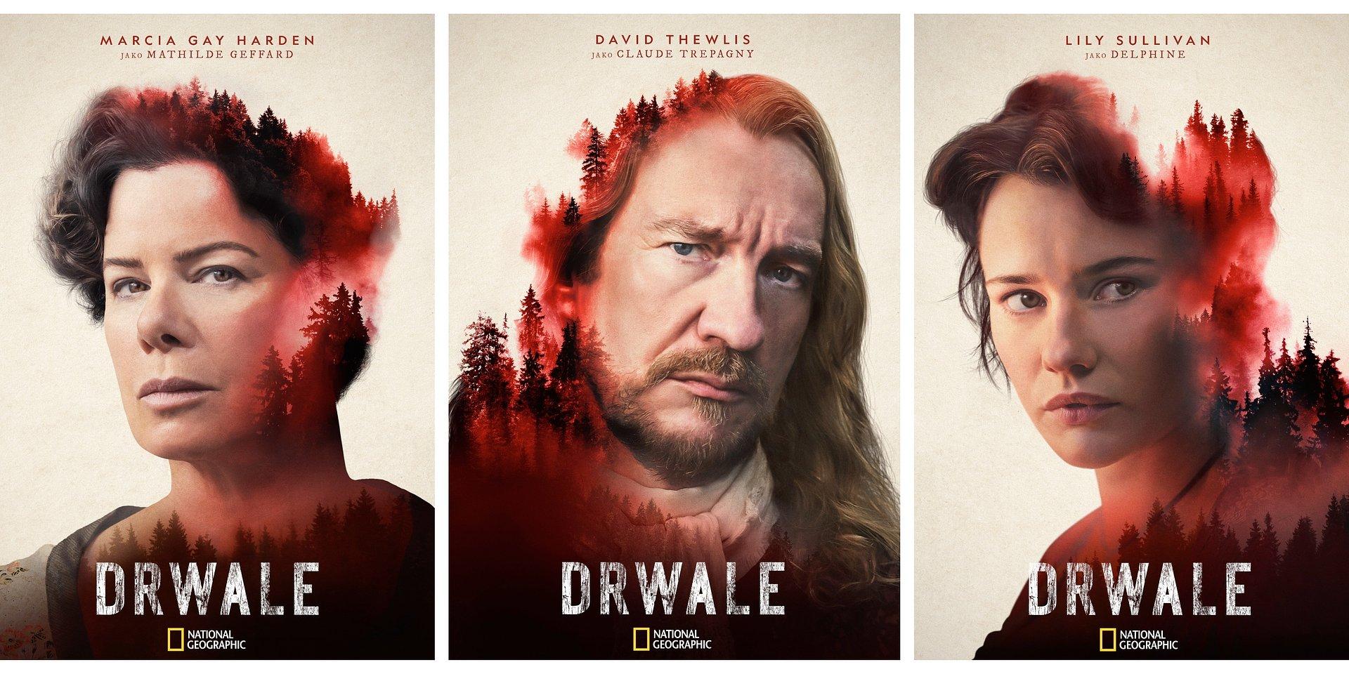 """David Thewlis jako Claude Trepagny w zwiastunie miniserialu """"Drwale"""" National Geographic"""