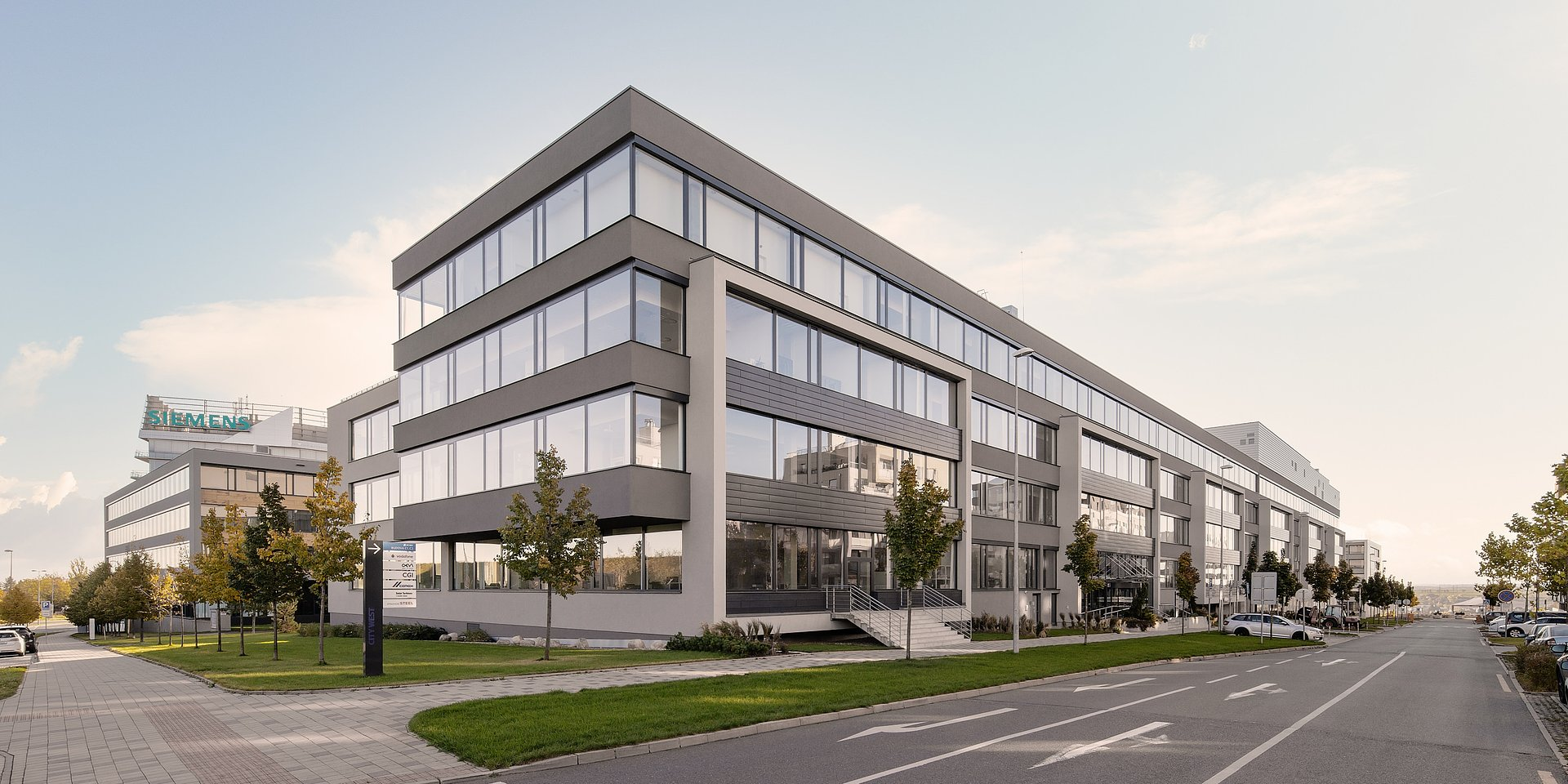 We negotiated financing for the 2 billion CZK purchase of CITY WEST C1 and C2