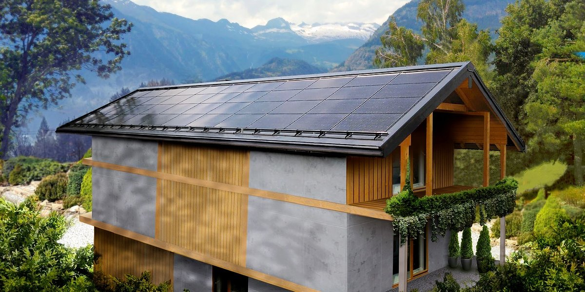 Innovative solar roofs from SunRoof debut in Switzerland. The goal is to revolutionise eco-friendly architecture and combat climate change