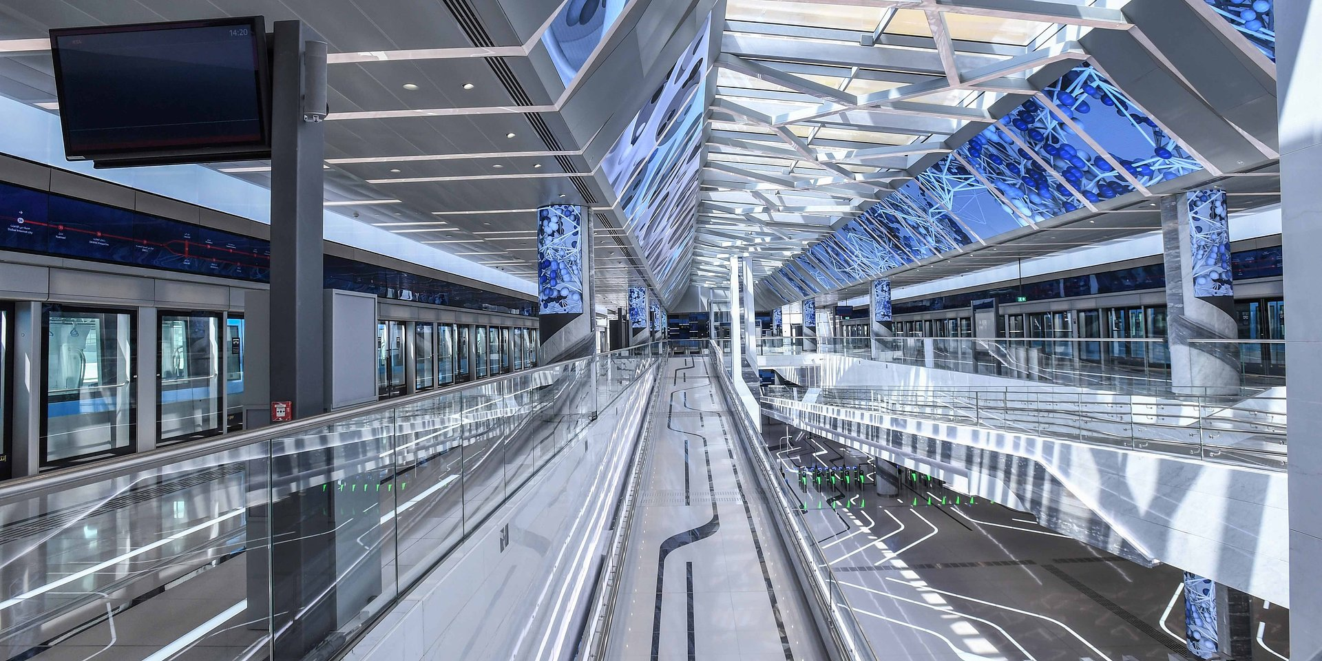 Najszybciej zrealizowany na świecie projekt budowy metra pod klucz: Alstom dla metra w Dubaju
