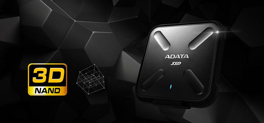 ADATA SD700 - Pierwszy zewnętrzny dysk SSD z pamięcią 3D NAND