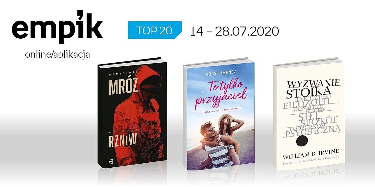 Książkowa lista TOP 20 na Empik.com za okres 14-28 lipca