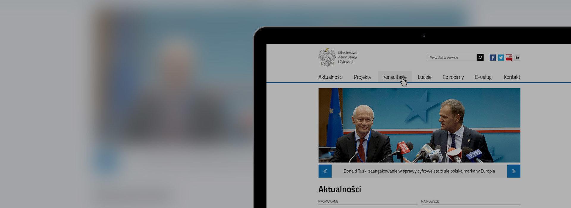 Nowa strona Ministerstwa Cyfryzacji!