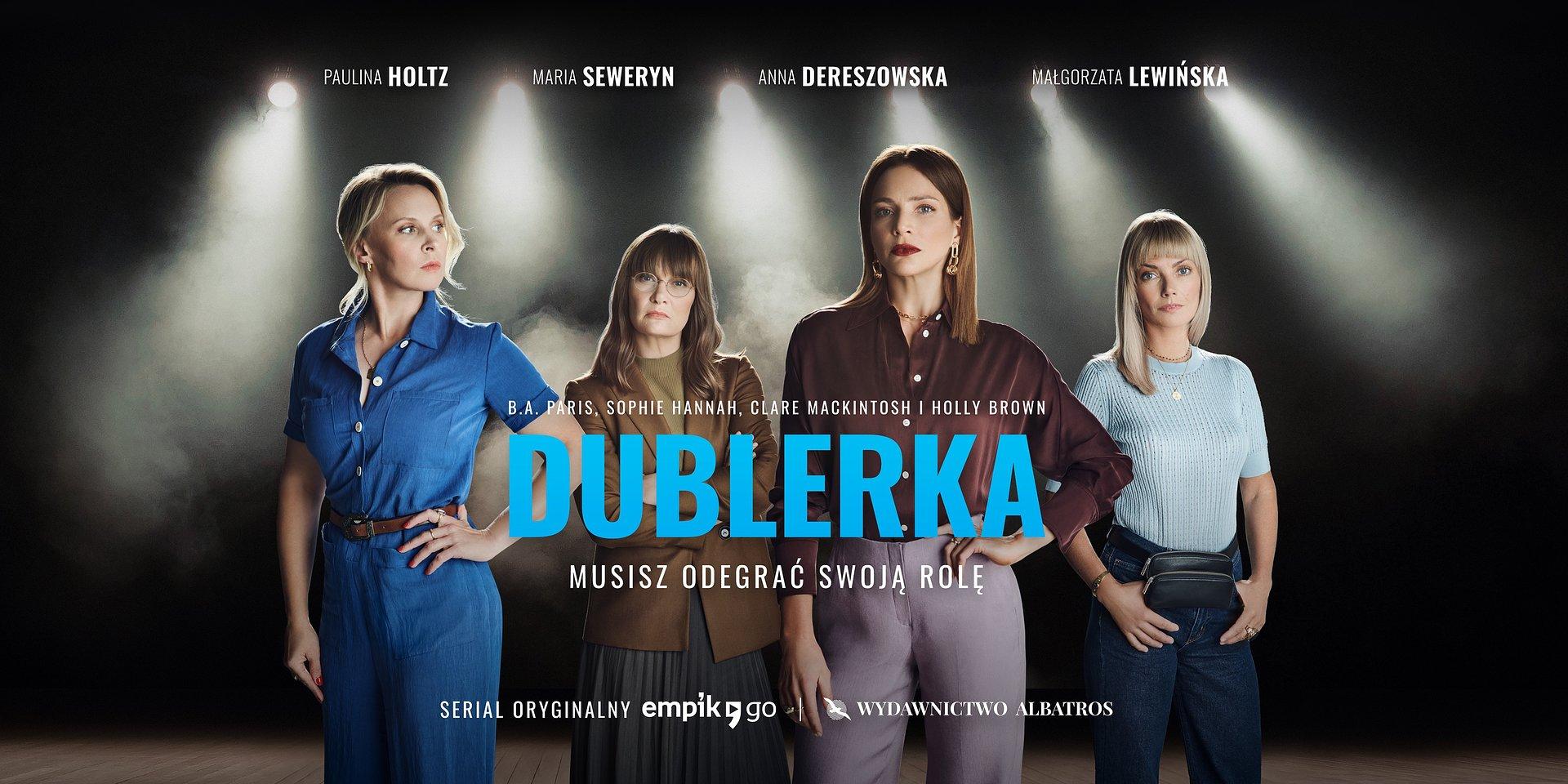"""Musisz odegrać swoją rolę. Nowy serial audio """"Dublerka"""" od Empik Go i Wydawnictwa Albatros"""