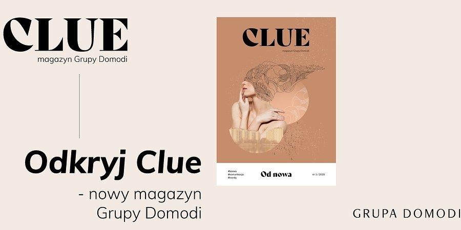Clue: nowy magazyn dla branży design i fashion