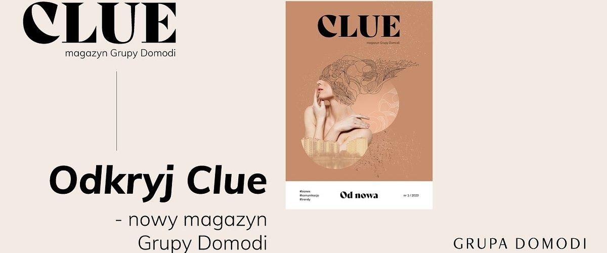 Clue: nowy magazyn dla branży fashion i design