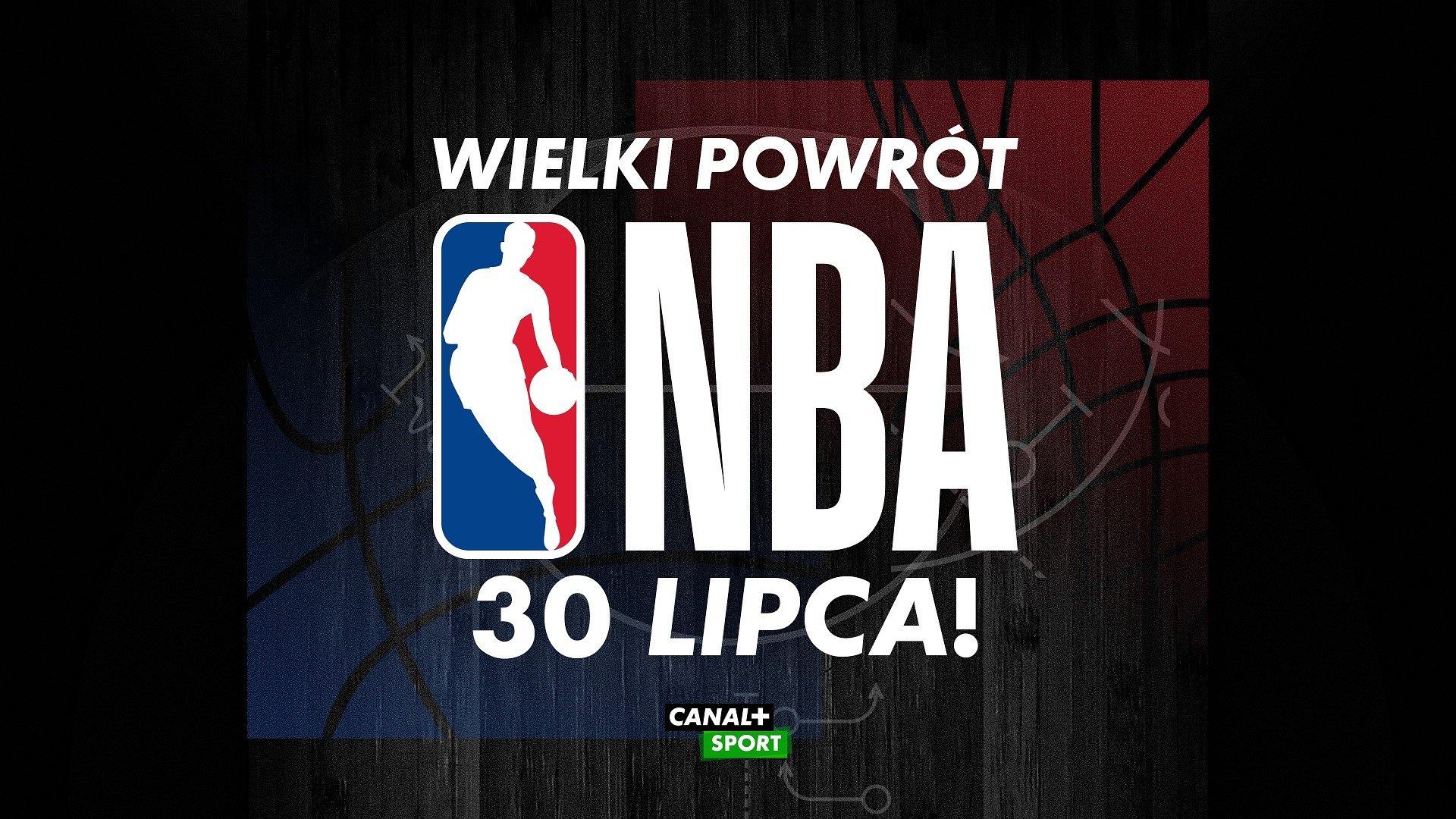 Wielki powrót NBA. Najlepsza koszykarska liga świata wznawia rozgrywki 30 lipca