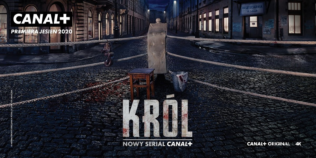 Nadchodzi KRÓL! CANAL+ przedstawia pierwszy teaser serialu.