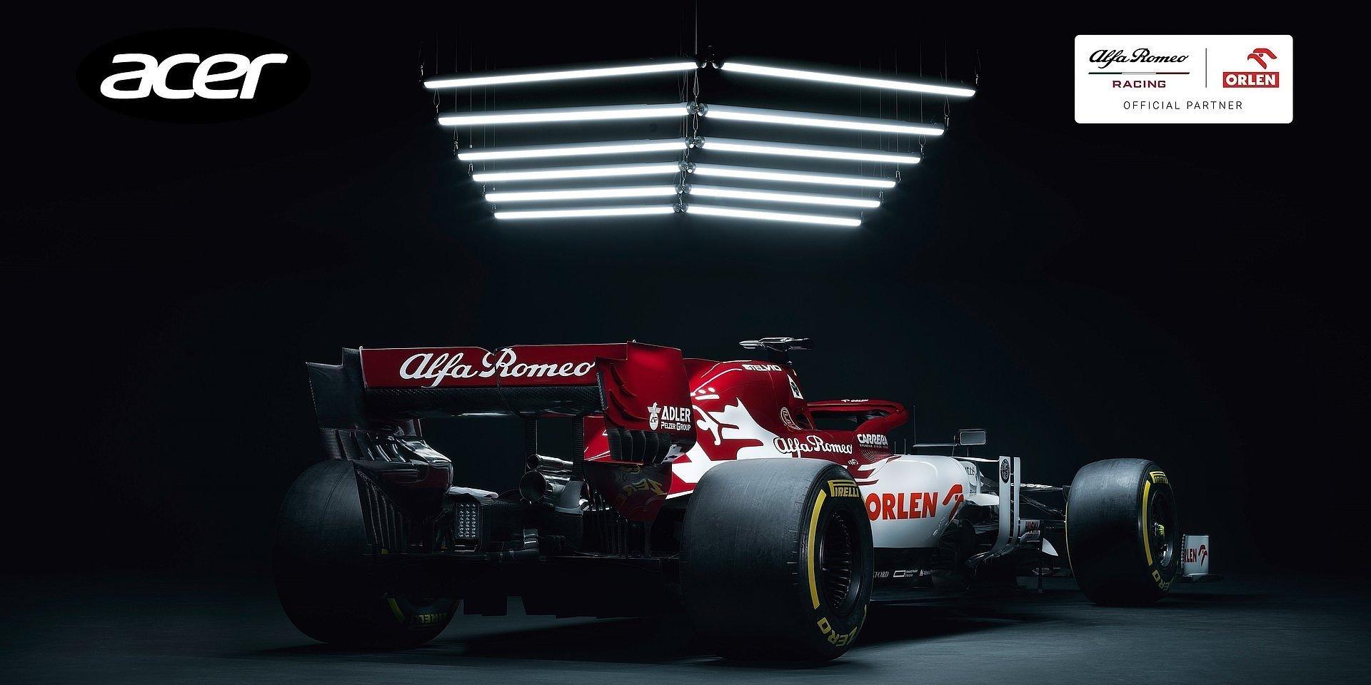 WĘC PR wprowadza Acer do zespołu Formuły 1 - Alfa Romeo Racing ORLEN