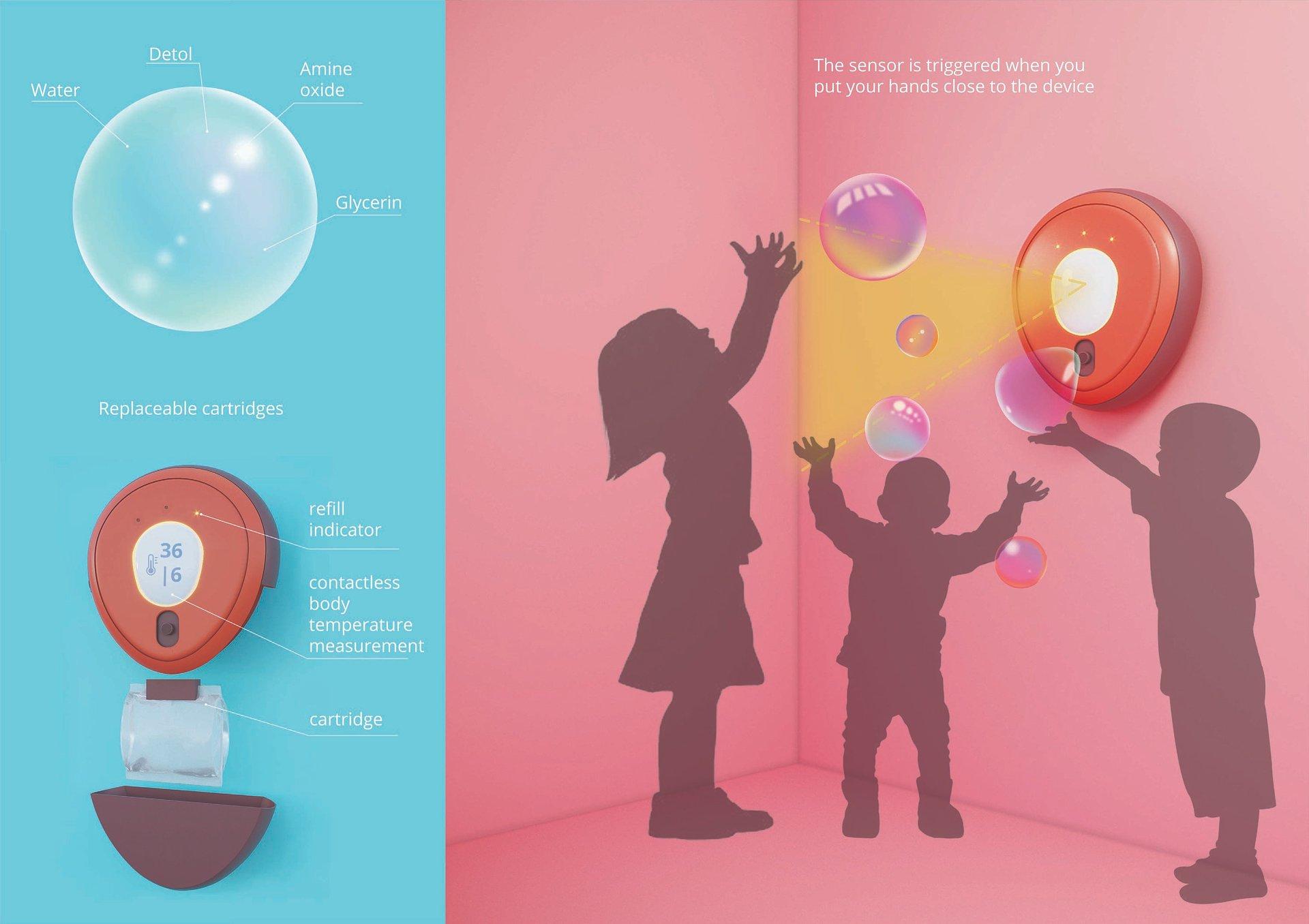 Międzynarodowy konkurs designu jumpthegap® nagradza 5 innowacyjnych projektów, które zmieniają podejście do higieny i ochrony przed zarażeniem