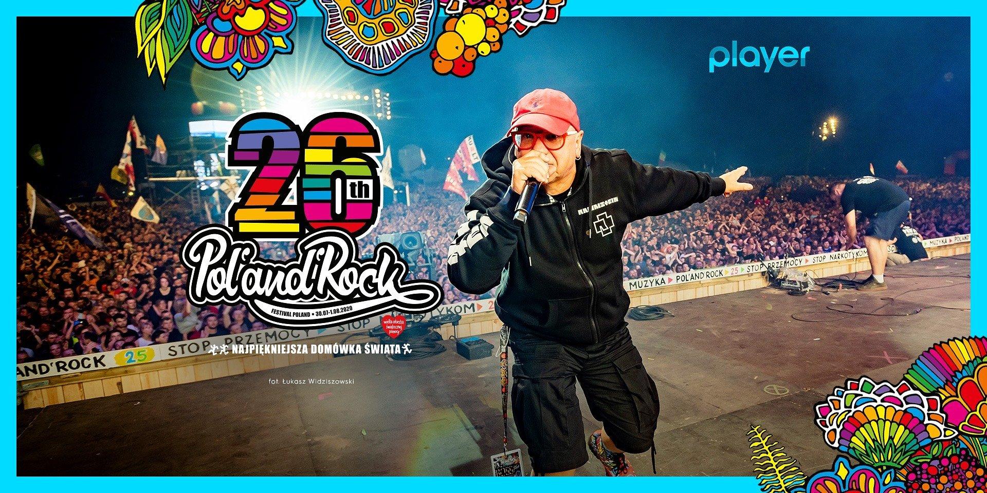 Pol'and'Rock Festival na żywo w Playerze!