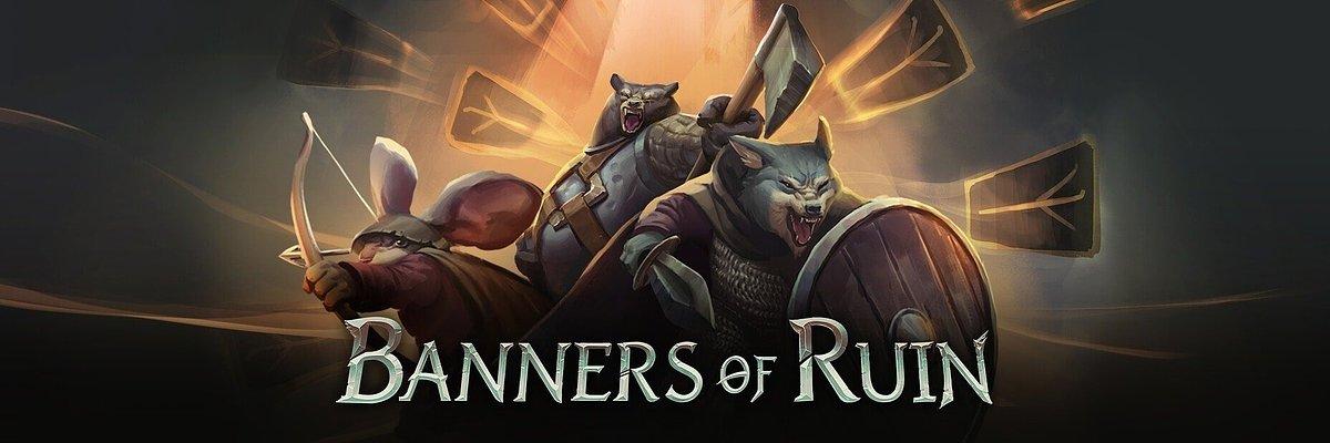 Ręcznie rysowany deckbuilder Banners of Ruin już dostępny na Steam w trybie Wczesnego Dostępu