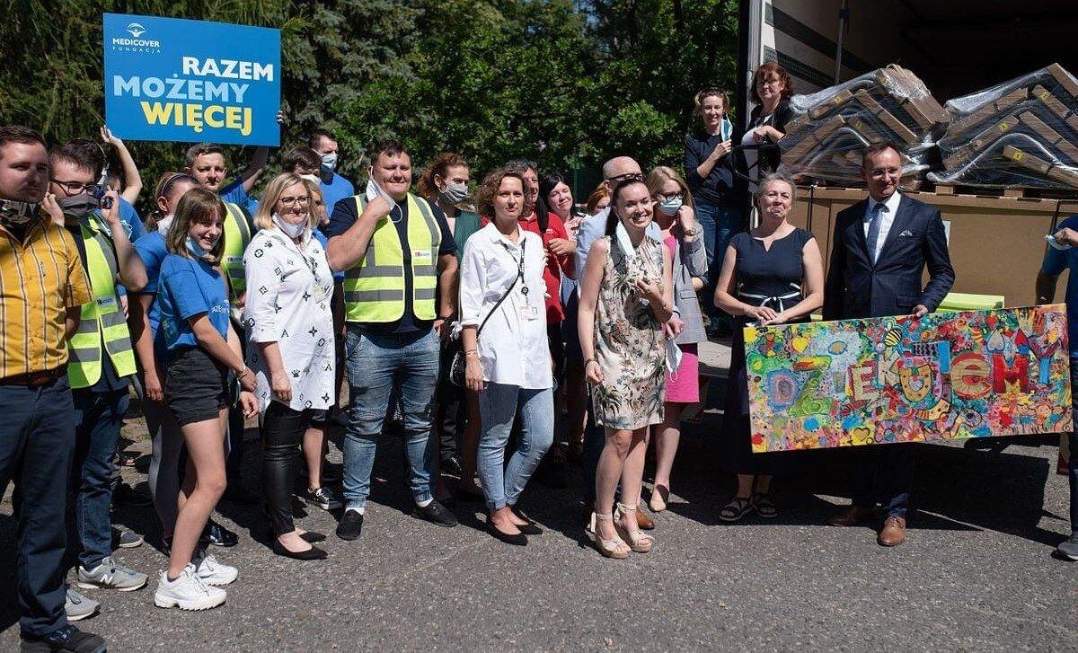 Nowe wyposażenie o wartości 1,6 mln złotych od IKEA oraz Ingka Centres dla oddziałów psychiatrii dla dzieci i młodzieży w całej Polsce