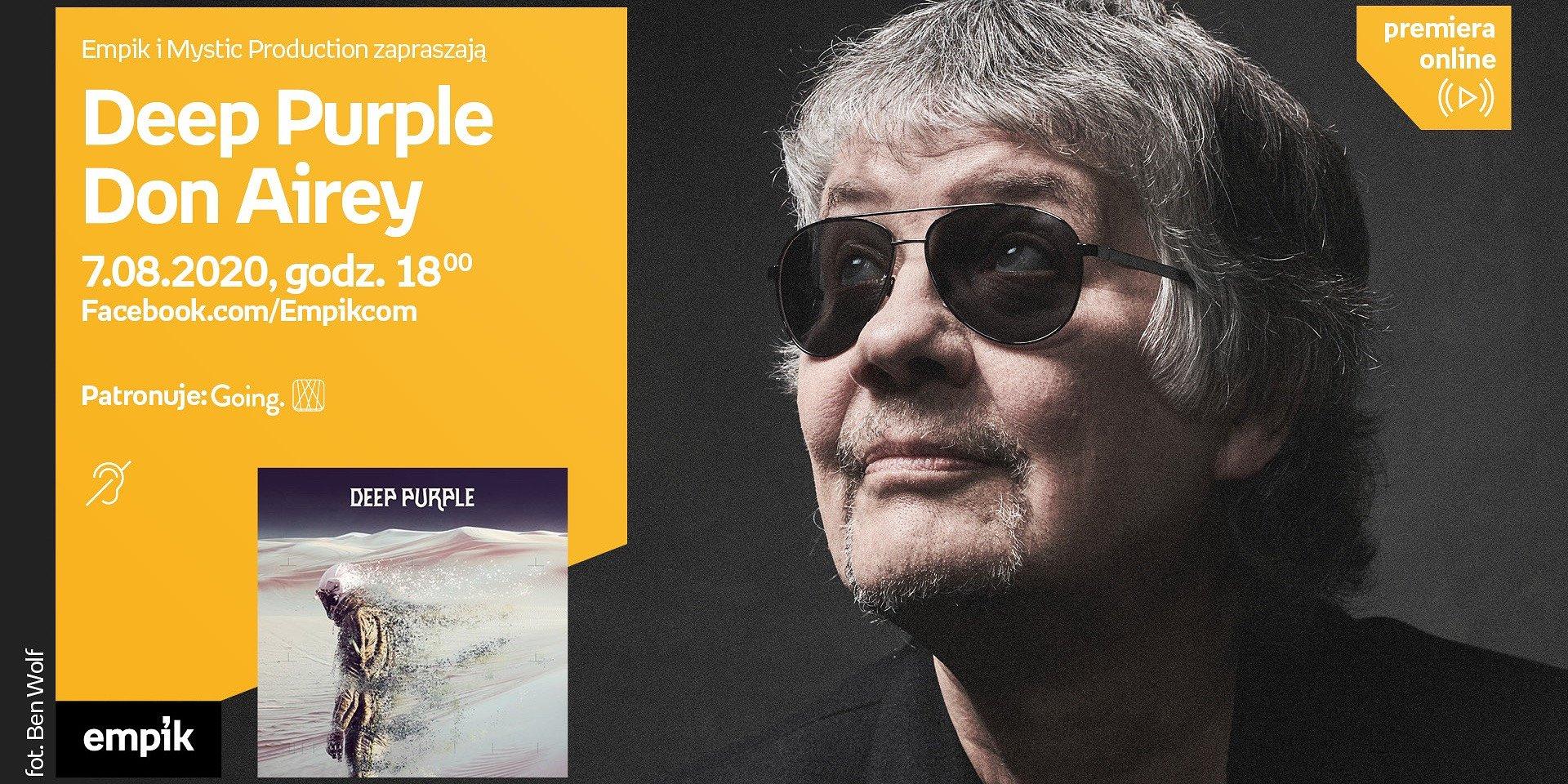 LP i Don Airey z Deep Purple spotkają się z polskimi fanami w wirtualnej przestrzeni