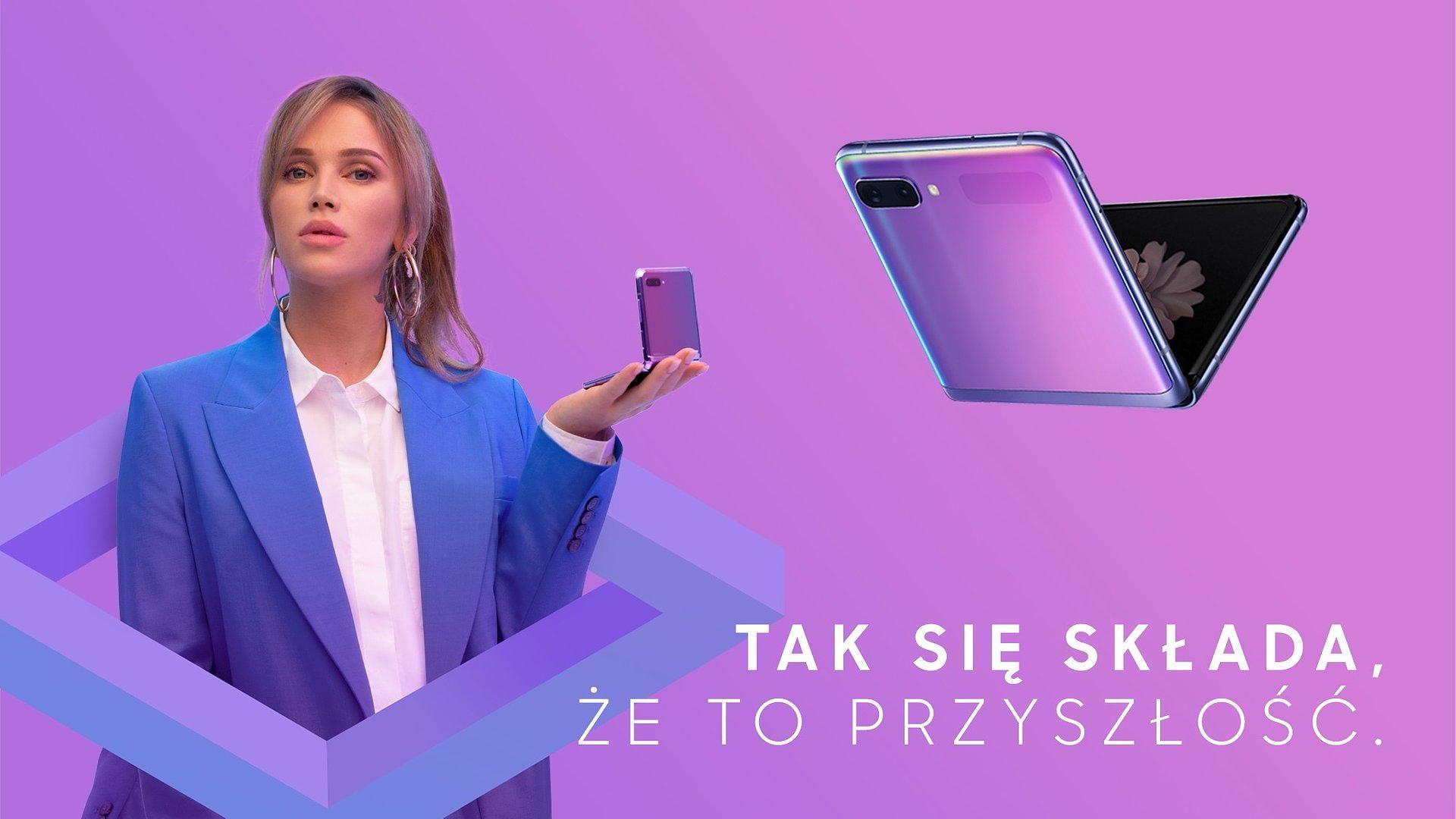 Tak się składa, że to przyszłość – nowa kampania Galaxy Z Flip z Maffashion