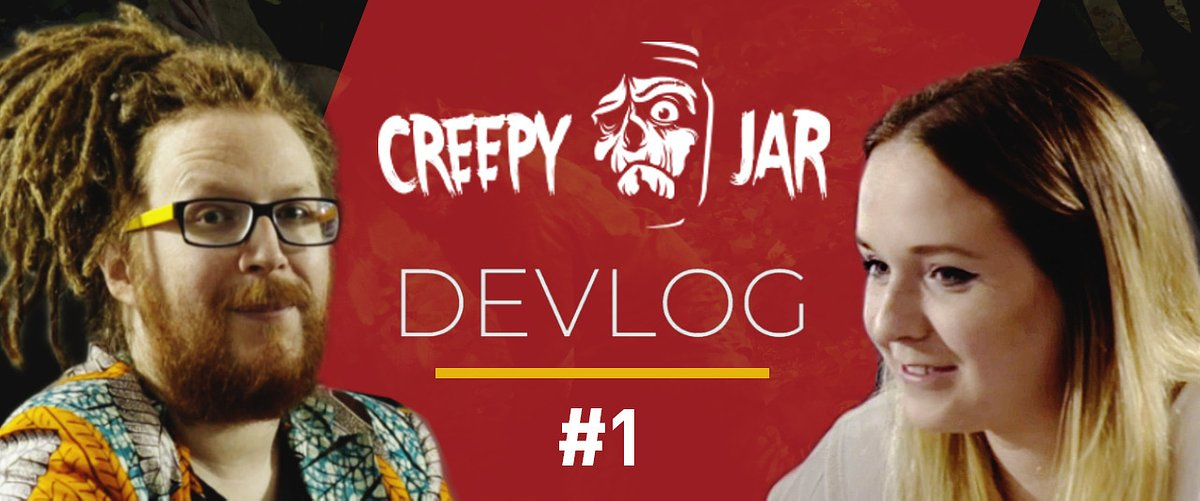 Estamos fazendo vídeos no YouTube, resulta ser mais difícil do que sobreviver na selva - Creepy Jar Devlog #1